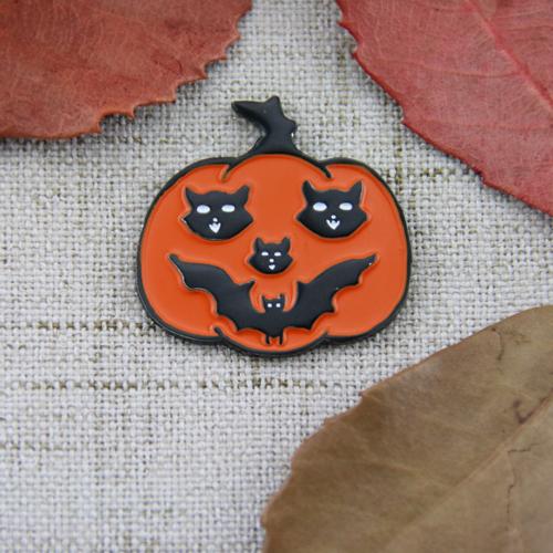 Halloween Pumpkin Custom Lapel Pins