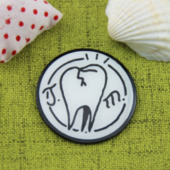 Tooth Custom Lapel Pins