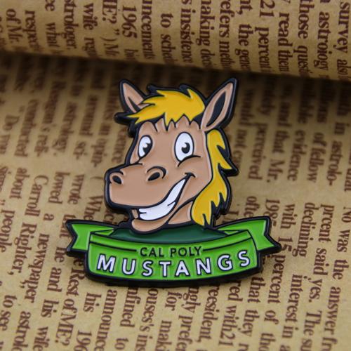 Mustangs Custom Lapel Pins