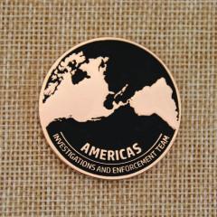 Anti-Counterfeit Program Custom Coins