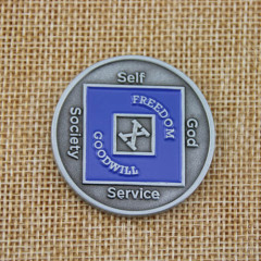 SUACNA Custom Coins