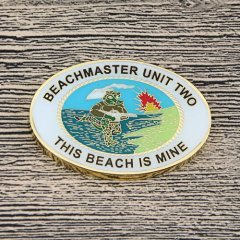Beachmaster Unit Two Custom Coins