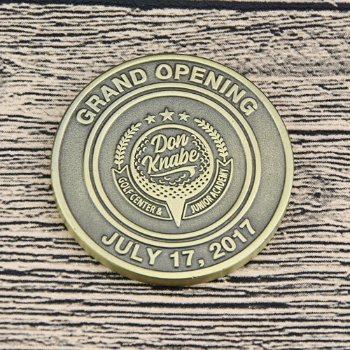 Grand Opening Custom Challenge Coins