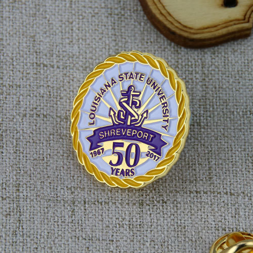 Louisiana State University Custom pins