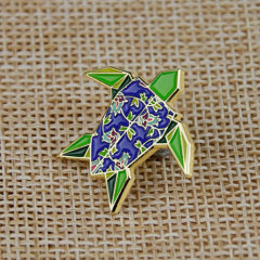Tortoise Lapel Pins
