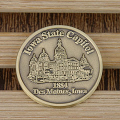 Iowa State Capitol Custom Coins