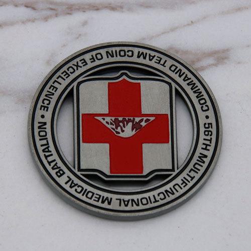 Medicine Warrior Custom Coins