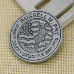 Greater Akron Chamber Custom Challenge Coins