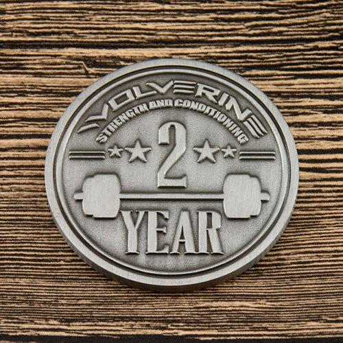 Powerlifting Custom Coins
