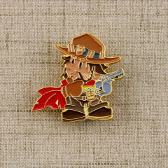 Cowboy Stock Lapel Pins
