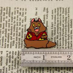 Raccoon Stock Lapel Pins