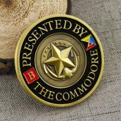 Navy Custom Challenge Coins