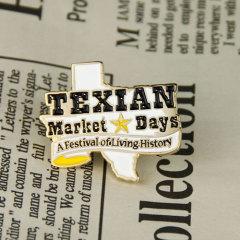 Festival Die Struck Pins