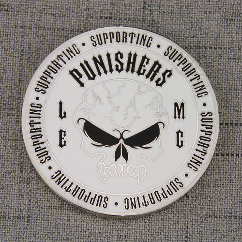Supporting Punishers Custom Coins