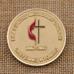 First United Methodist Church Custom Coins