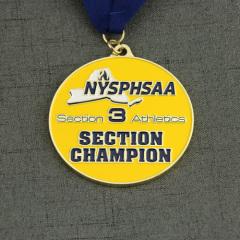 Section Champion Customized Medals