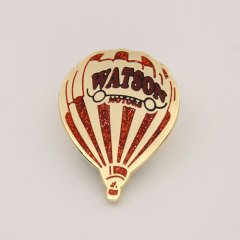 Hot Air Balloon Custom Hard Enamel Pins