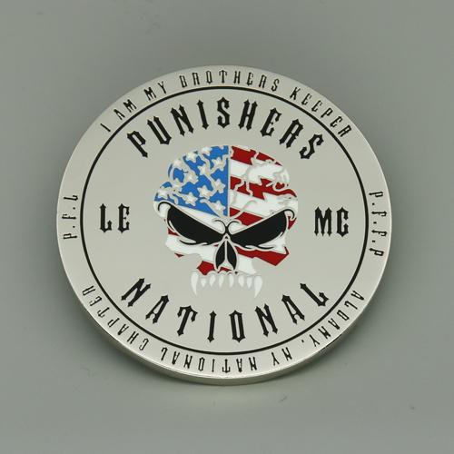 Punishers National Custom Coins