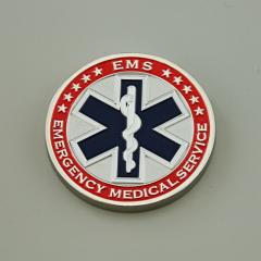 Emergency Medical Service Custom Coins