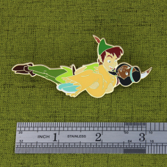 Peter Pan Cloisonne Pins