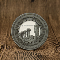 IHI Power Services Challenge Coins