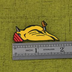 Woodpecker Custom Pins