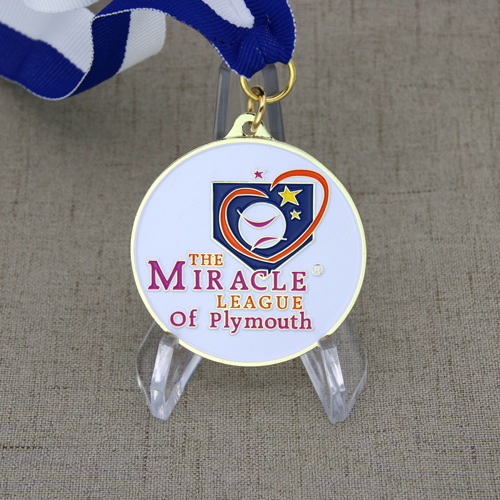 Miracle League of Plymouth Custom Medals