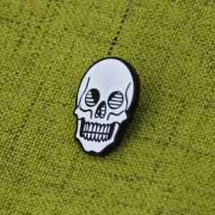 The Skull Enamel Lapel Pins