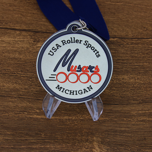Michigan USA Roller Sports Custom Medals