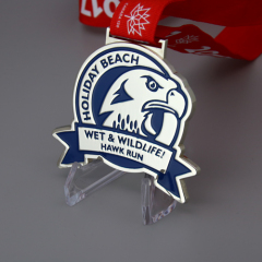 Wet and Wild Hawk Run Custom Medals