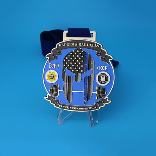 Badges and Barbells Competition Custom Medals