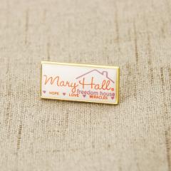 Mary Hall Freedom House Enamel Pins Custom
