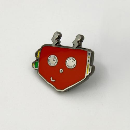 Cartoon Robot Lapel Pins