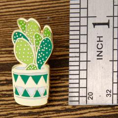 Cactus Enamel Lapel Pins