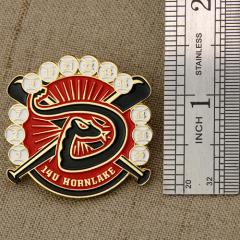 Baseball Pins for HORNLAKE