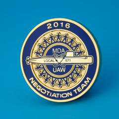 MDA-UAW Local 571 Custom Coins