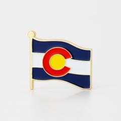 Colorado State Flag Pins