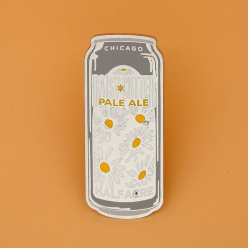 Daisy Cutter Pale Ale Hard Enamel Pins