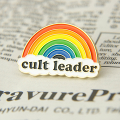 Cult Leader Enamel Pins
