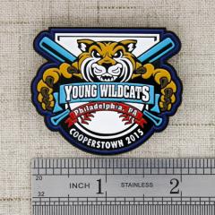 Young Wildcats Baseball Pin