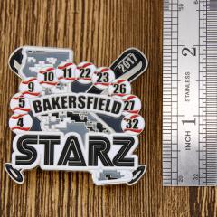 Bakersfield Starz Baseball Pins