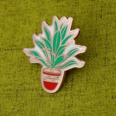 Aloe Vera Plants Lapel Pins