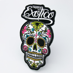 Exotico Skull Embroidered Patches