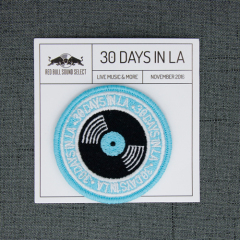 30 Days in LA Embroidered Patches