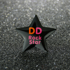Rock Star Lapel Pins