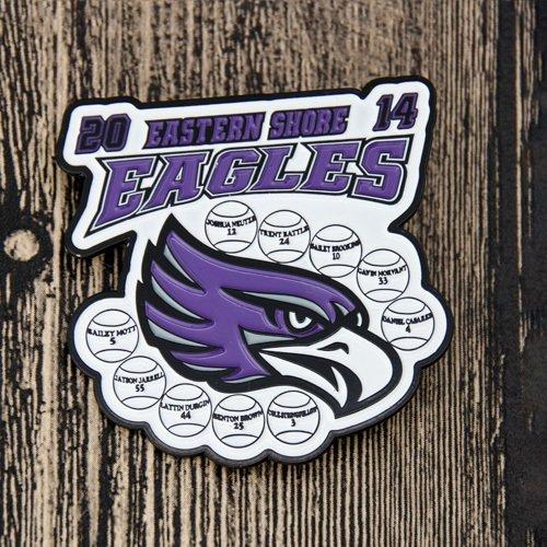 Eastern Shore Eagles Baseball Pins