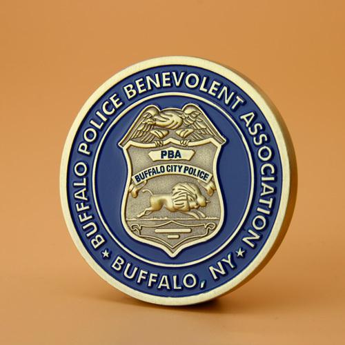 Buffalo Police Custom Challenge Coins