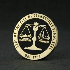 City of Clarksville Custom Coins
