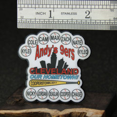 Andy's 9ers Cleveland Baseball Pins
