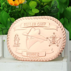 Outlaw Camp Cool Belt Buckles